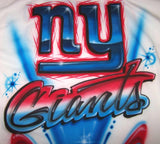 NY Giants Airbrushed T-shirt