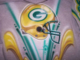 Packers football helmet Custom Hooded Sweatshirt