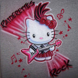 Rock-N-Roll Hello Kitty Music Shirt