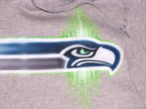 Seattle Seahawks Freestyle Logo Custom Sweatshirt