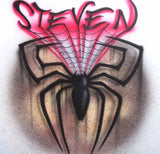 Freestyle Spider Airbrushed Spider-Man Themed Tee Sweatshirt or Hoodie