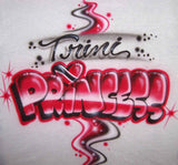 Trinidad Flag Trini princess custom shirt