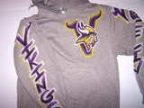 Vikings Logo Front Airbrushed Sweatshirt