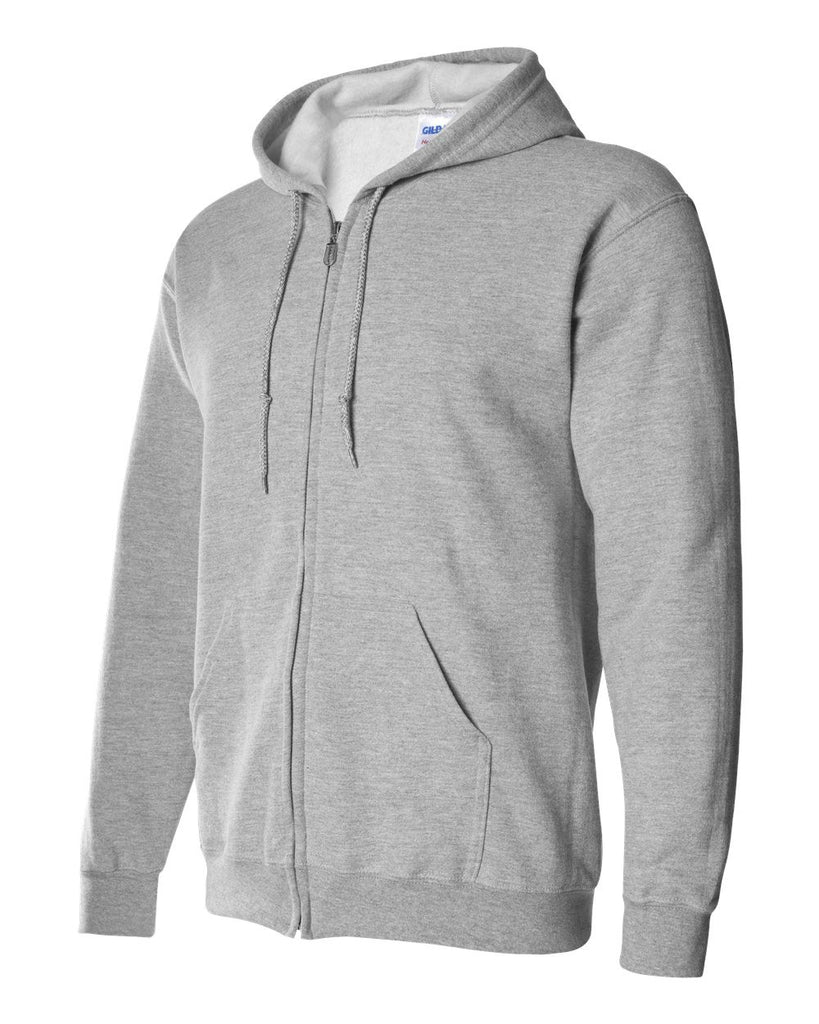 Adult Full Zip Hooded Mid Weight Sweatshirt Upgrade For Your Airbrushed Design