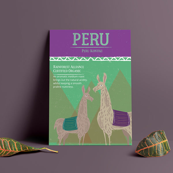Peru Kontiki - organic, fair trade, rainforest friendly