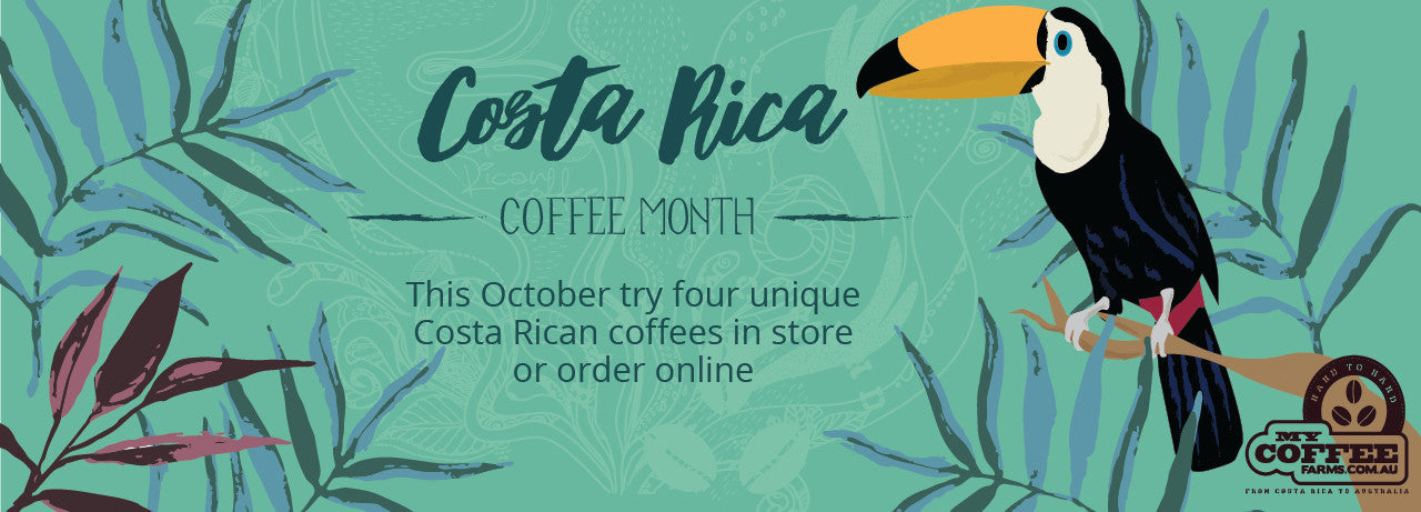 costa rica coffee month
