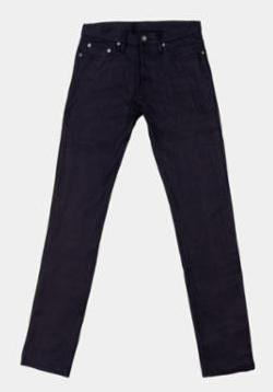 3sixteen CT-122x Classic Tapered Lightweight Shadow Selvedge - City Workshop Men's Supply Co.
