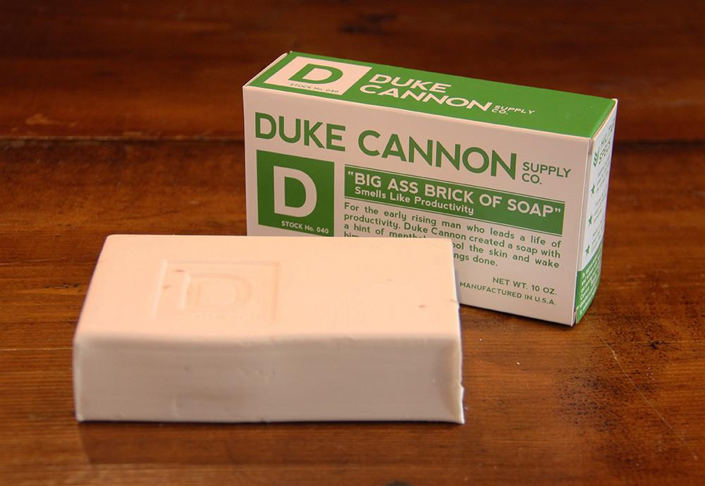 Duke Cannon - Big Ass Brick of Soap - City Workshop Men's Supply Co.