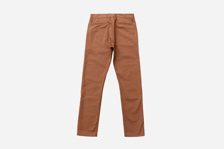 3sixteen - Rust Selvedge Canvas Chino