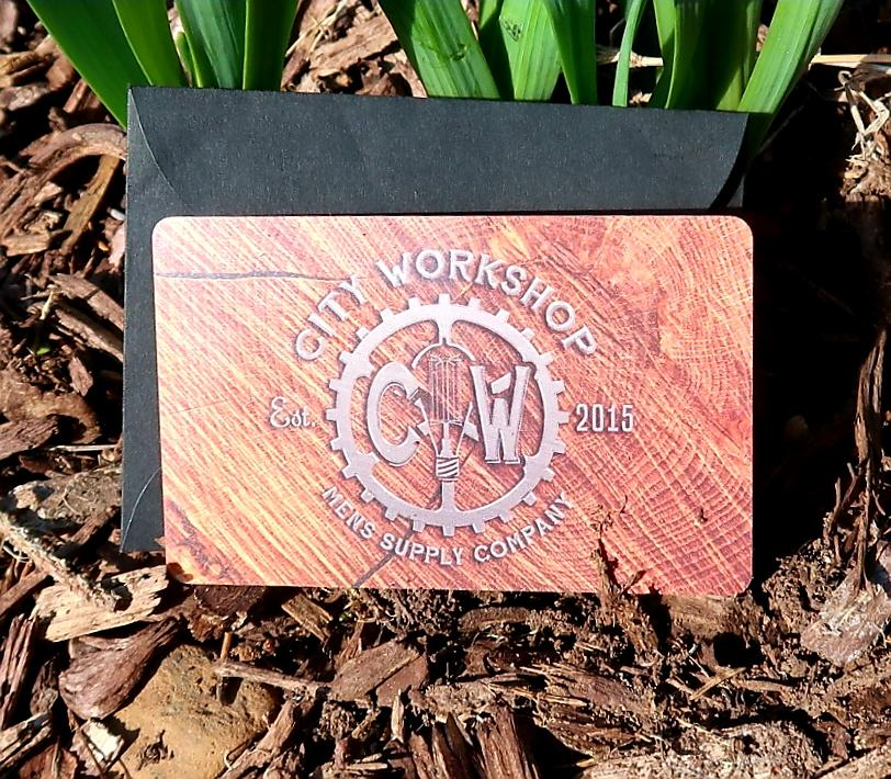 City Workshop Gift Card - City Workshop Men's Supply Co.
