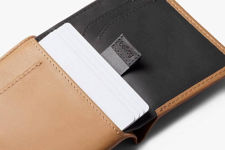 Bellroy - Note Sleeve Wallet RFID - Tan - City Workshop Men's Supply Co.