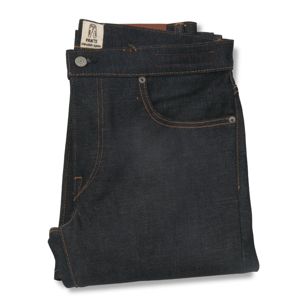 "KATO' 4-Way Stretch Selvedge ""The Pen"" Raw 14oz - City Workshop Men's Supply Co."