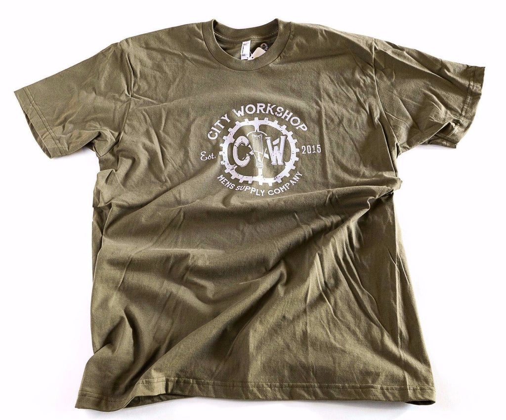 City Workshop T-Shirt - City Workshop Men's Supply Co.