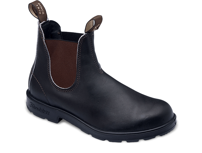 Blundstone Men's Original 500 Boots - Stout Brown #500 - City Workshop Men's Supply Co.