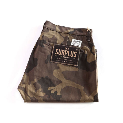 Kennedy Denim - Surplus Chino - Camo - City Workshop Men's Supply Co.