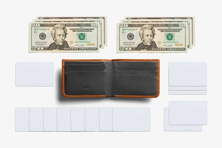 Bellroy - Hide & Seek Lo Wallet RFID - Caramel - City Workshop Men's Supply Co.