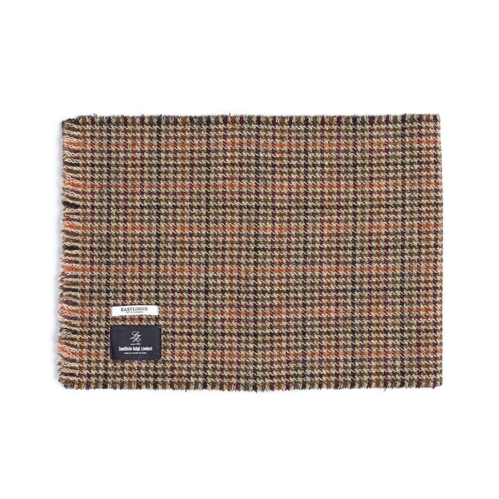 Eastlogue - Wool Scarf Multi Gunclub Check
