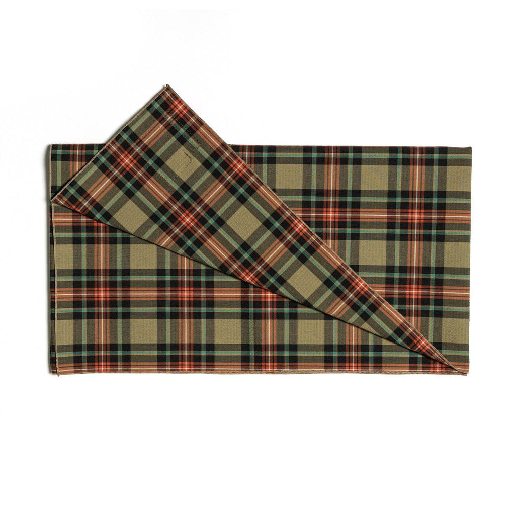 Eastlogue - Scarf - Beige Multi Check