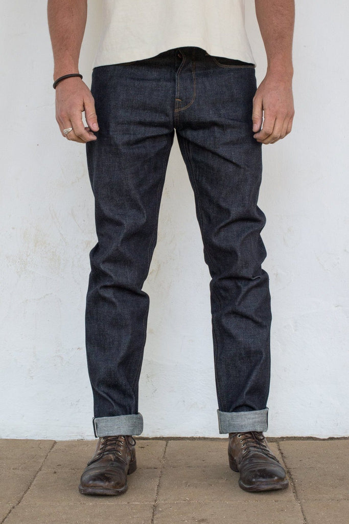 Freenote Cloth - Portola Taper Raw 14.25oz Broken Twill Japanese Denim - City Workshop Men's Supply Co.