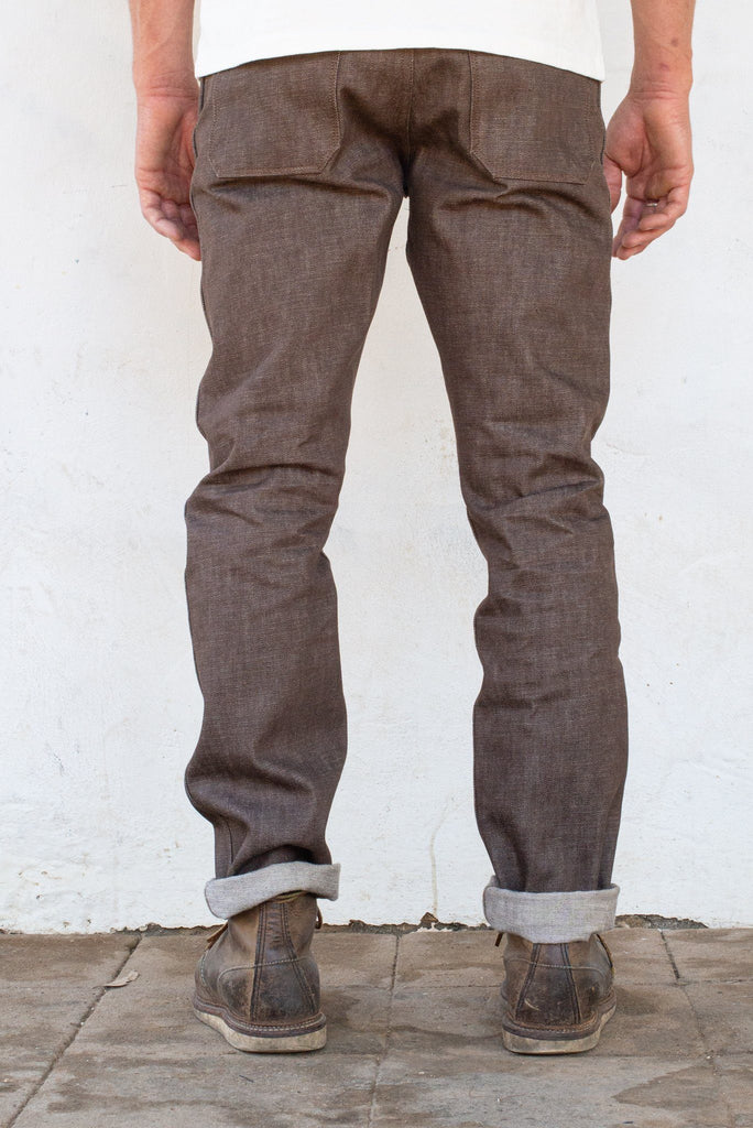 Freenote Cloth - Rios 13oz. Brown Denim