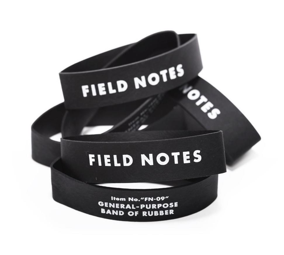 Field Notes - Band Of Rubber 12-Pack - City Workshop Men's Supply Co.
