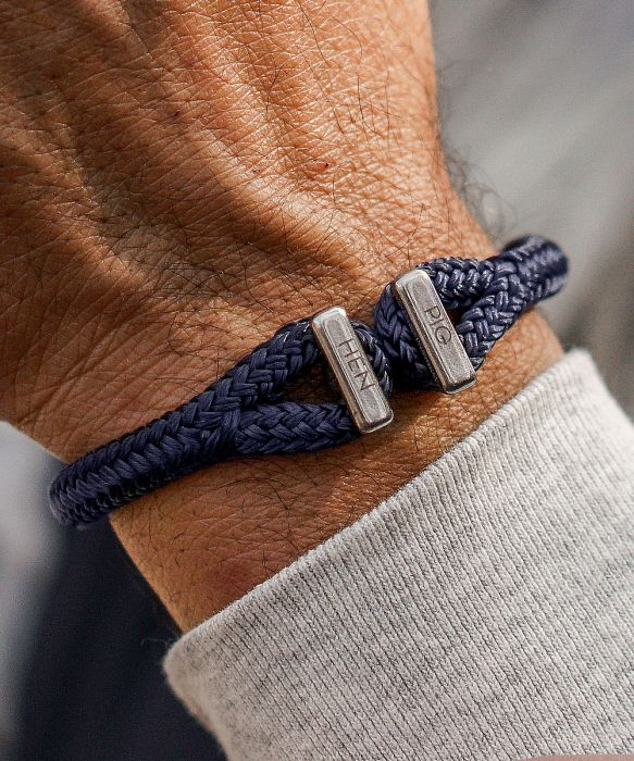 Pig & Hen - Icy Ike - Navy/Silver