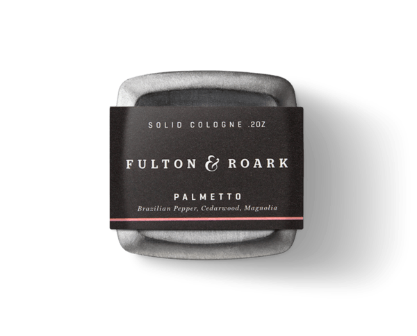 Fulton & Roark - Solid Cologne - Palmetto - City Workshop Men's Supply Co.