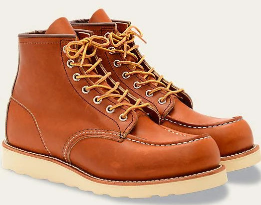 Red Wing Heritage 6 Inch Classic Moc #875 // Oro Legacy Leather - City Workshop Men's Supply Co.