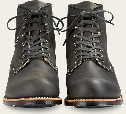 Red Wing Heritage Blacksmith #3341 // Charcoal Rough & Tough Leather - City Workshop Men's Supply Co.