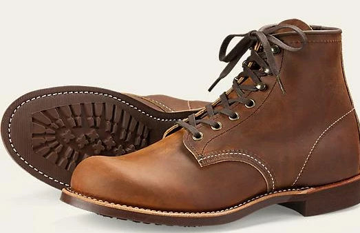 Red Wing Heritage Blacksmith #3343 // Copper Rough & Tough Leather - City Workshop Men's Supply Co.