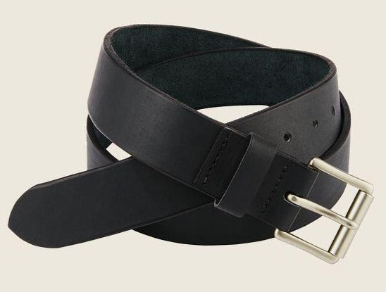 Red Wing Heritage Leather Belt - Black Pioneer Leather