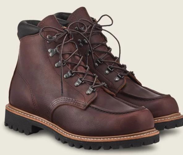 Red Wing Heritage // Sawmill 6-inch Boot in Briar Oil-Slick Leather #2927