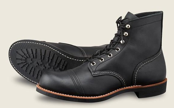 Red Wing Heritage Iron Ranger #8084 // Black Harness Leather