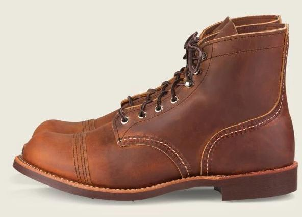 Red Wing Heritage Iron Ranger #8085 // Copper Rough & Tough Leather - City Workshop Men's Supply Co.