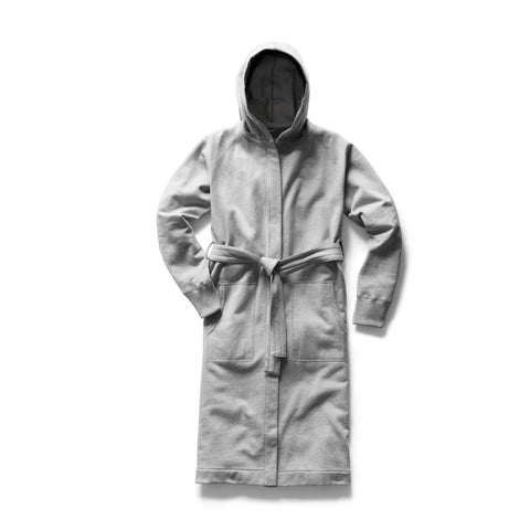 Reigning Champ Mid Weight Terry Hooded Robe - Heather Grey - City Workshop Men's Supply Co.