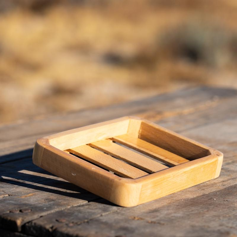 Outlaw - Wood Soap Dish