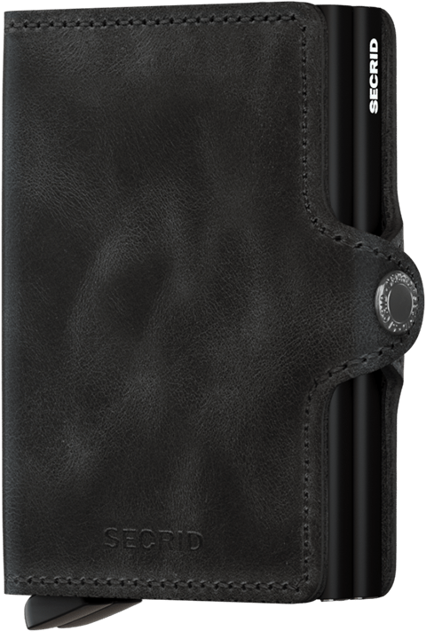 SECRID - Twinwallet - Vintage Black - City Workshop Men's Supply Co.