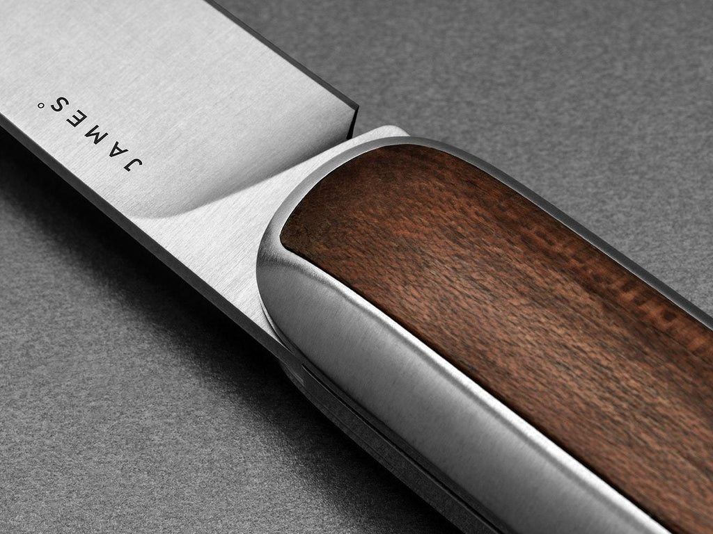 The James Brand - The Pike - Rosewood + Stainless