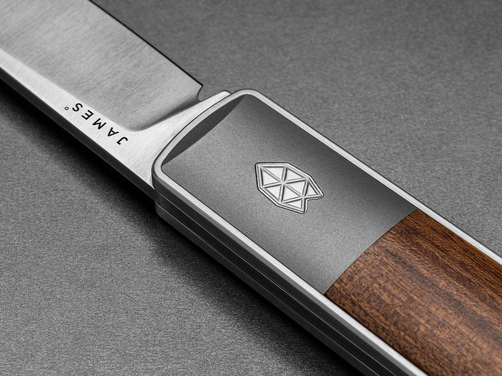 The James Brand - The Wayland - Rosewood + Stainless