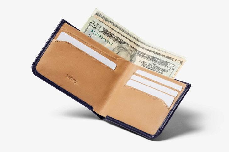 Bellroy - Hide & Seek Lo Wallet RFID - Navy - City Workshop Men's Supply Co.