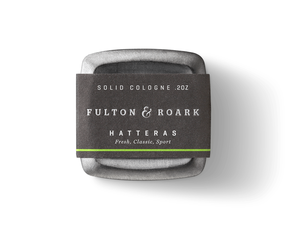 Fulton & Roark - Solid Cologne - Hatteras - City Workshop Men's Supply Co.