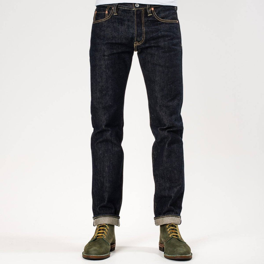 Iron Heart 21oz IH-777S-21 Selvedge Denim Super Slim Tapered Jeans - Indigo - City Workshop Men's Supply Co.