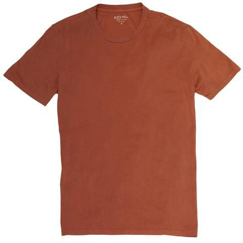 Alex Mill Standard Cotton Jersey Tee - Autumn - City Workshop Men's Supply Co.
