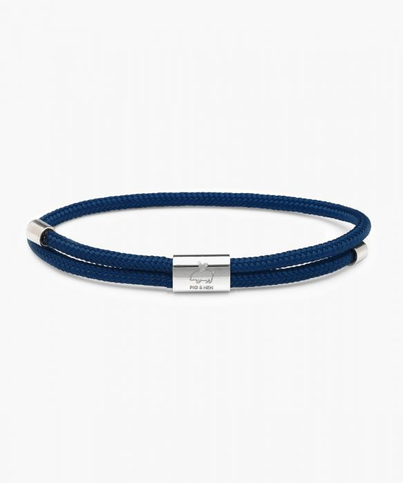 Pig & Hen - Little Lewis - Navy/Silver