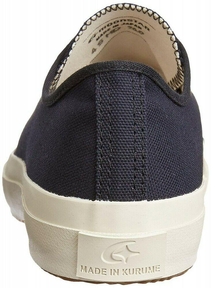 Moonstar Gym Classic Fine Vulcanized - Dark Navy - City Workshop Men's Supply Co.
