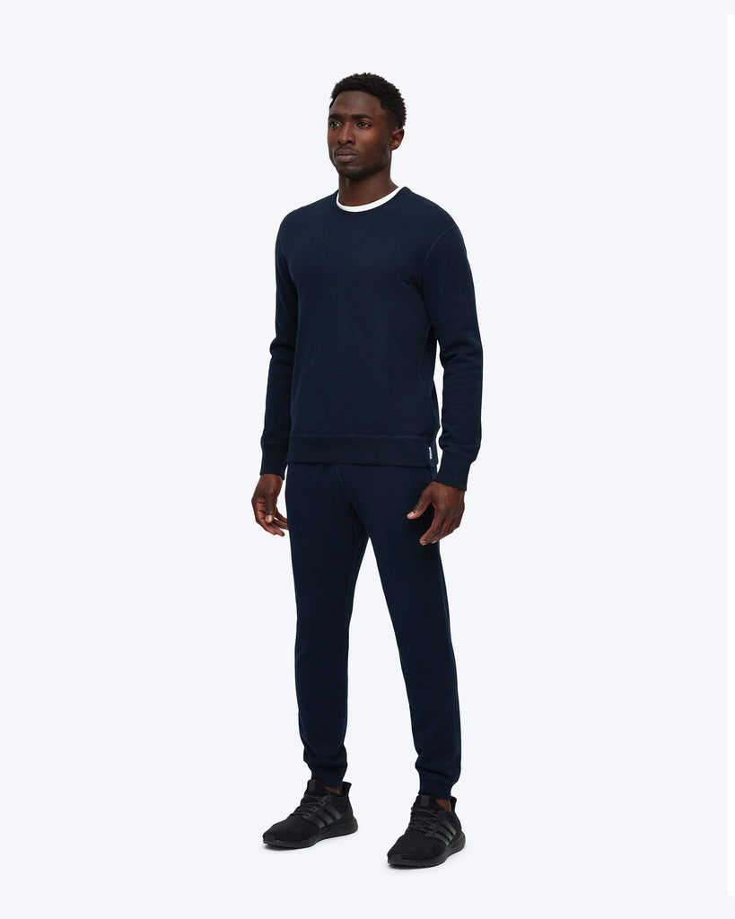 Reigning Champ Mid Weight Terry Slim Sweatpant - Navy