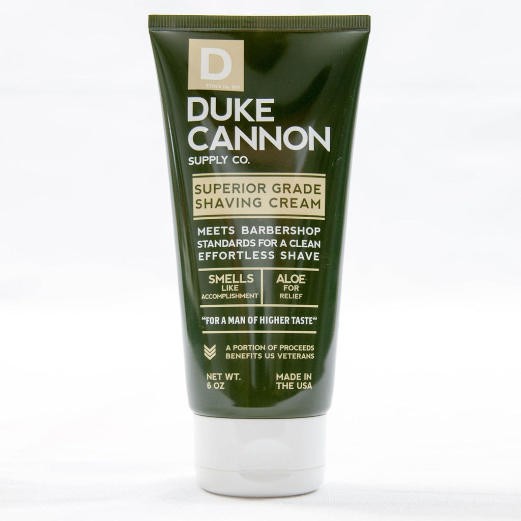 Duke Cannon - Superior Grade Shave Cream - City Workshop Men's Supply Co.