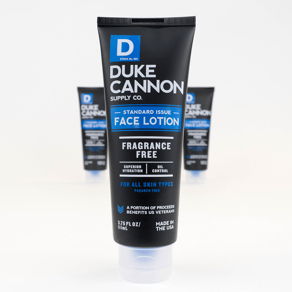 Duke Cannon - Standard Issue Face Lotion - City Workshop Men's Supply Co.