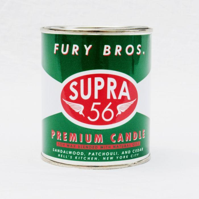 Fury Bros. - Supra 56 Premium Candle - City Workshop Men's Supply Co.