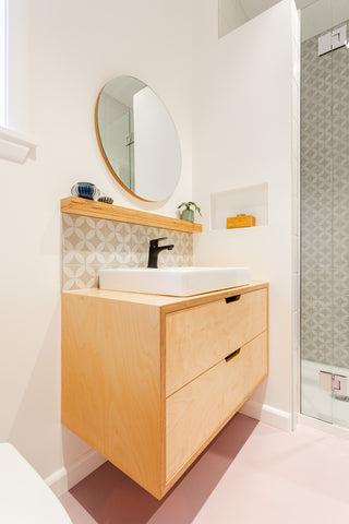Favourite Ensuite Vanity and Mirror